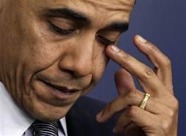 obama in tears