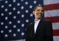 obama with flag