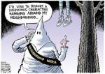 trayvon kkk hanging around