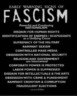 antibellum fascism poster