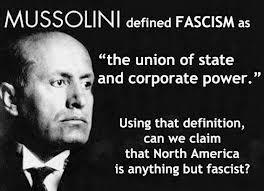 Mussolini defines Fascism