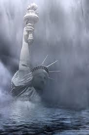 drowning liberty
